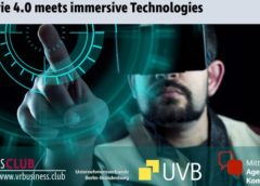 Industrie 4.0 meets immersive Technologies in Kooperation mit dem UVB