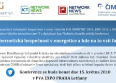 Konference Kybernetická bezpečnost v energetice a kde na to vzít lidi