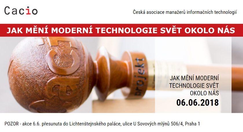 JAK MĚNÍ MODERNÍ TECHNOLOGIE SVĚT OKOLO NÁS