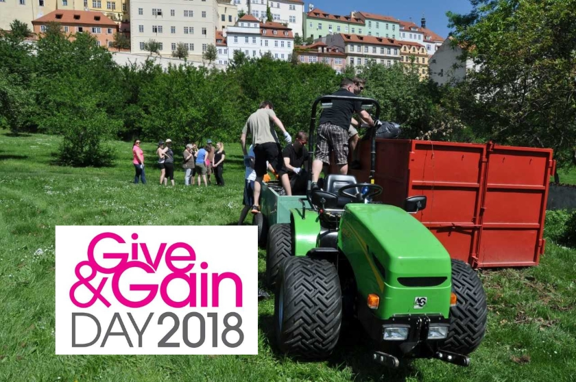give and gain 2018