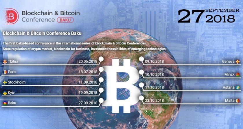 Blockchain & Bitcoin Conference Baku