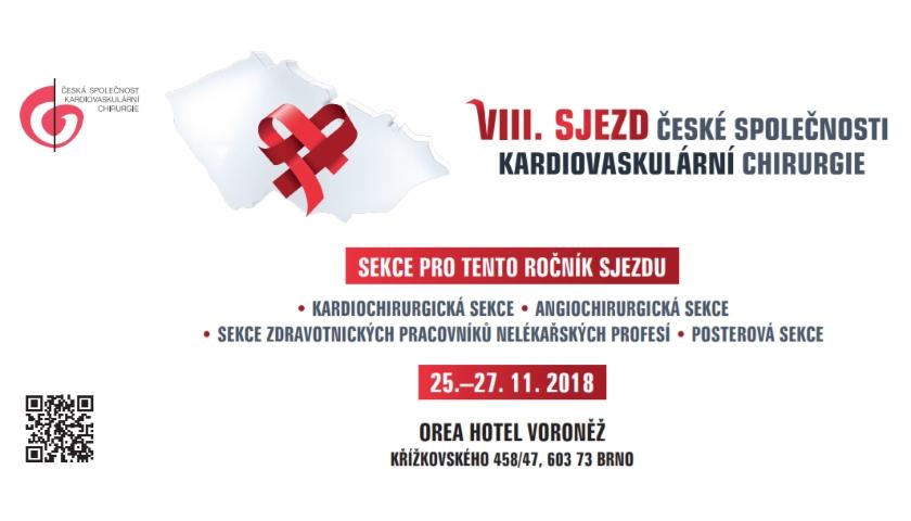 VIII. sjezd České společnosti kardiovaskulární chirurgie