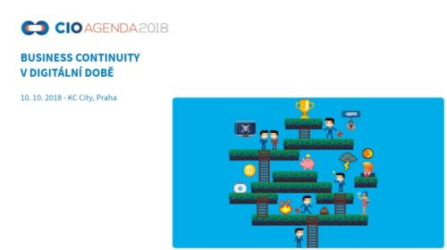 CIO Agenda 2018: Setkání všech, kteří nesou zodpovědnost za řízení rizik
