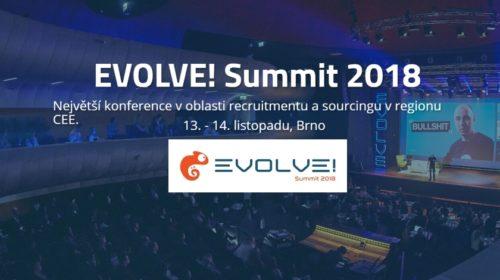 Letošní EVOLVE! Summit přiveze do Brna recruiterské hvězdy z USA