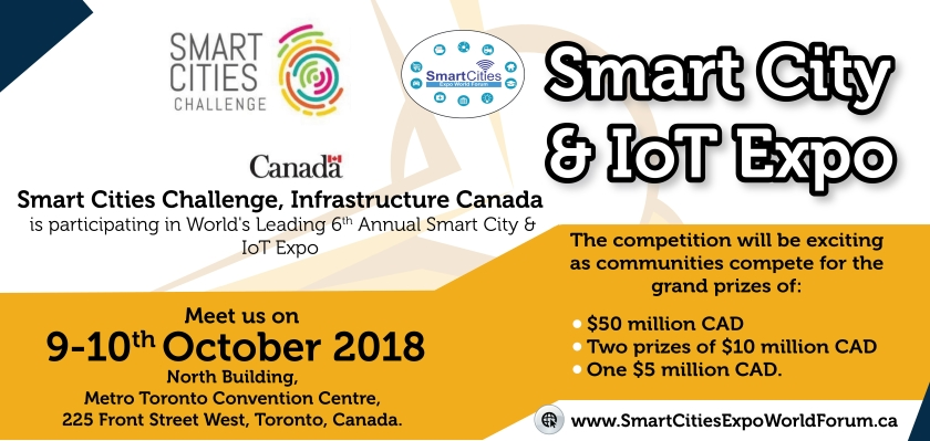 smart city and iot expo Canada
