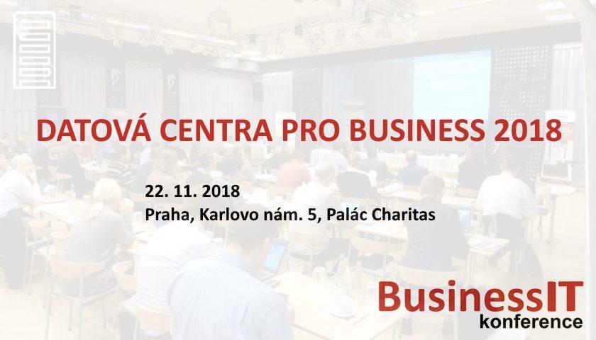 DATOVÁ CENTRA PRO BUSINESS 2018
