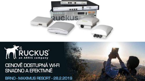 Seminář: Ruckus Networks