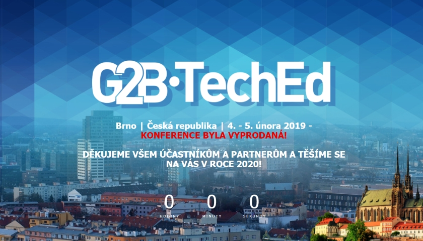 G2B•TechEd 2019