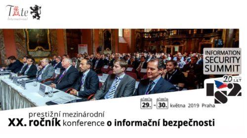 20. ročník konference IS2 2019