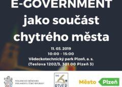 E-GOVERNMENT jako součást chytrých měst
