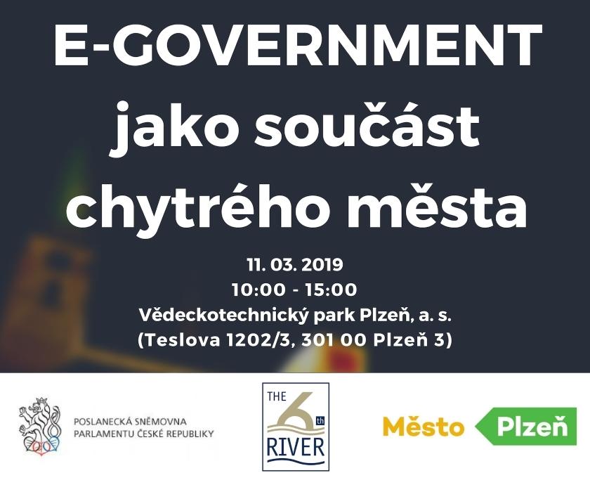 Odborná konference E-GOVERNMENT jako součást chytrého města