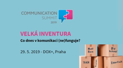 Konference: Communication Summit 2019