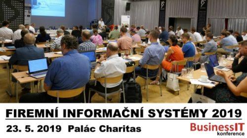 Konference Firemní informační systémy