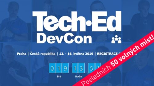 Konference Gopas: TechEd-DevCon 2019