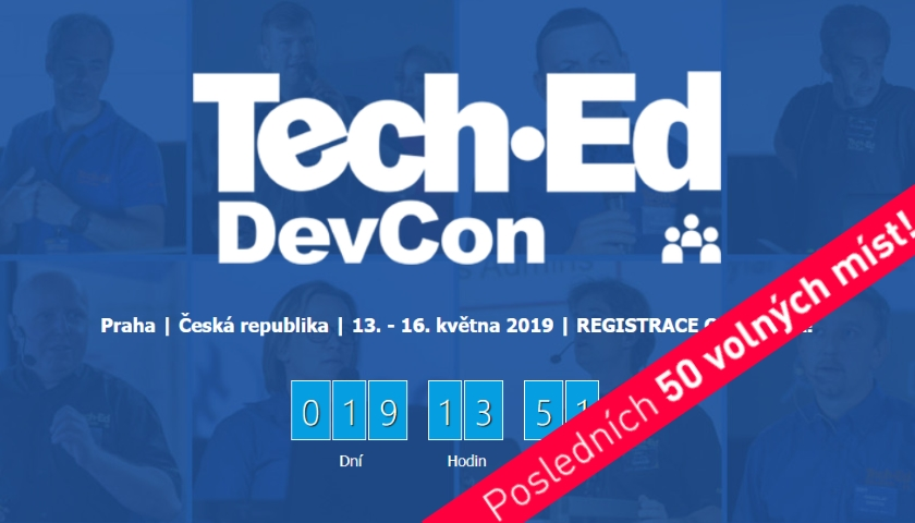 Konference Gopas: TechEd-DevCon 2019 | EVENT WORLD NETWORK NEWS