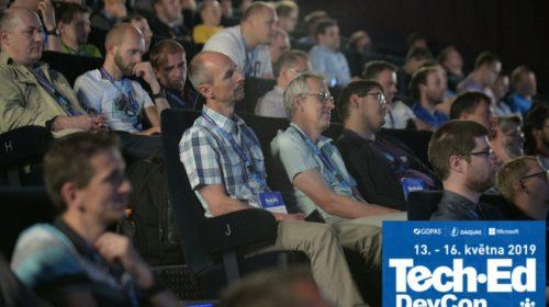 První informace o konferenci TechEd-DevCon 2019