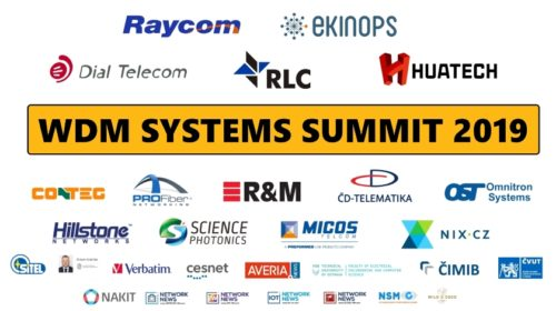 Konference WDM Systems Summit 2019