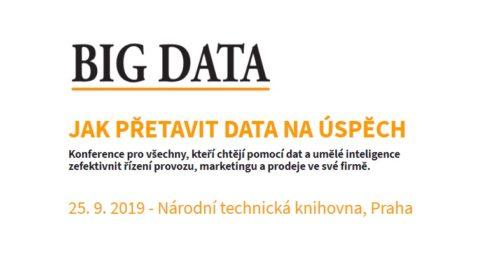 Big Data už dávno nejsou jen Big Buzzword