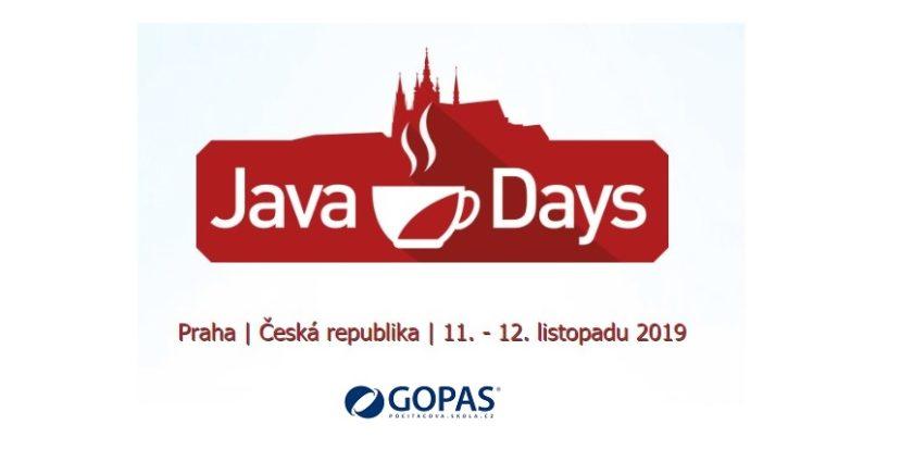 Java Days 2019 úvodní obr