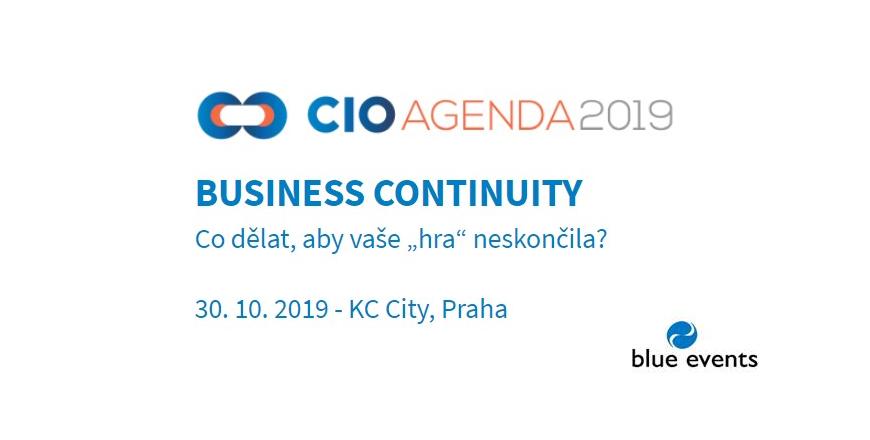 CIO Agenda 2019