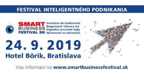 Konference Smart Business Festival v Bratislavě již za 5 dní!