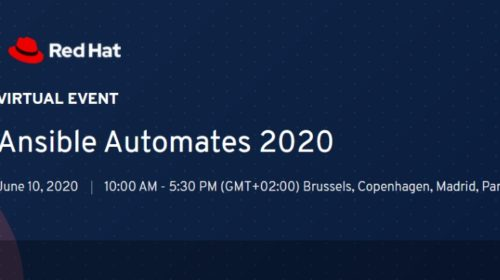Ansible AUTOMATES 2020 Virtual roadshow