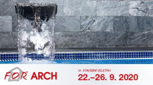 FOR ARCH 2020: Bazény, wellness, ale i vodní prvky pro města