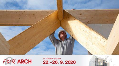 Trendy v oboru dřevostaveb představí v září stavební veletrh FOR ARCH 2020