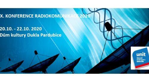 XXX. KONFERENCE RADIOKOMUNIKACE 2020