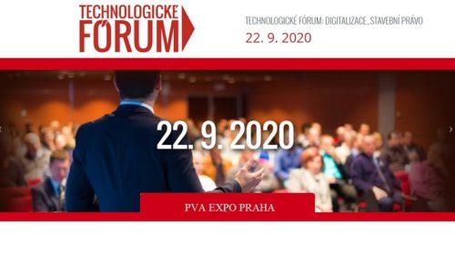 TECHNOLOGICKÉ FÓRUM 2020