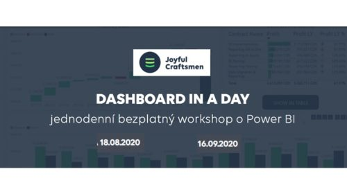 Dashboard in a day – workshop o Power BI