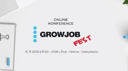 Online konference GrowJOB fest